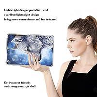 PRINDIY iPad Pro 11 2018/iPad Pro タブレットケース,アンチダスト 軽量 耐衝撃性 TPUシリコーン 落下に強い クリア 指紋防止 スリム ハード TPU製 ケース iPad Pro 11 2018/iPad Pro Case-D 13