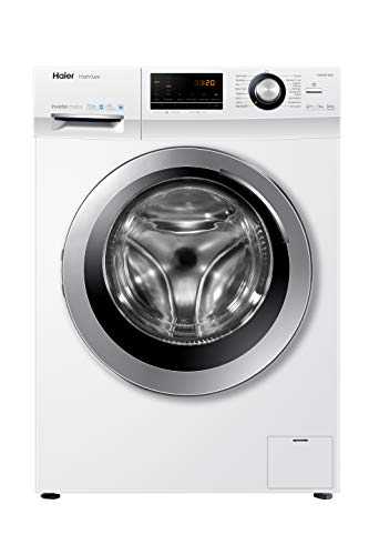 Haier HW90-BP14636 Waschmaschine Frontlader / 9 kg/A+++ / 121 kWh / 1.400 UpM/Steam (Dampffunktion) / AquaProtect