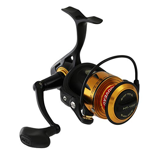 PENN Fishing Spinfisher VI Saltwater Spinning Reel, 5500 Reel Size, 5.6:1 Gear Ratio, 39