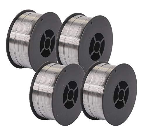 4 Rollen WELDINGER Fülldraht 0,6 mm 1 kg Kleinrolle (MIG/MAG-Schweißdraht NoGas)
