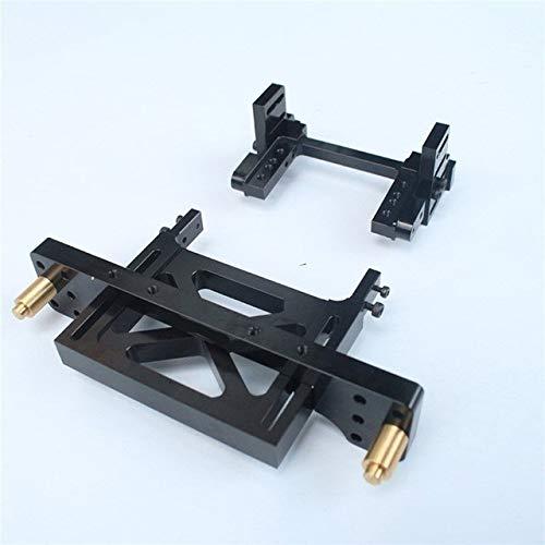 L-Yune,bolt 1set Durable Metall Auto Shell Körpermontagewinkel Befestigungs-Zahnstange for 01.10 SCX10 Rahmen geändert Land Cruiser LC80 Änderungsteile (Größe : SCX10)