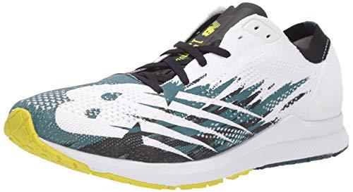 New Balance 1500v6, Zapatillas para Correr Hombre, Supercell Color Blanco, 44 EU