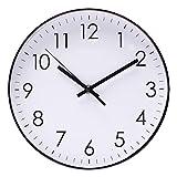 Horloge Décoration Horloge murale minimaliste moderne d'horloge murale de 10 pouces...