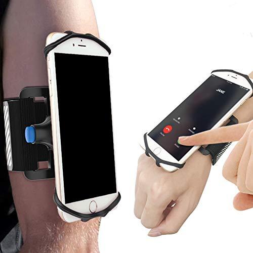 SPORTLINK Gelink Handy Sportarmband iPhone/Android, Universell Laufarmband Telefon Handyhalter, Sport Armband Armbinde für iPhone X/XS/XS Max/XR, Samsung Galaxy S9, bis zu 6,5 Zoll