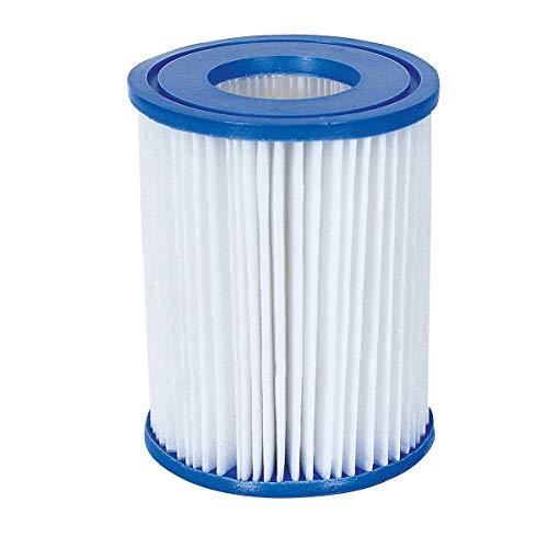 Bestway - Cartuchos para filtros de piscina No 58094 - Para piscinas y Lay-Z-Spa - Tamaño II, Cantidad por paquete 2