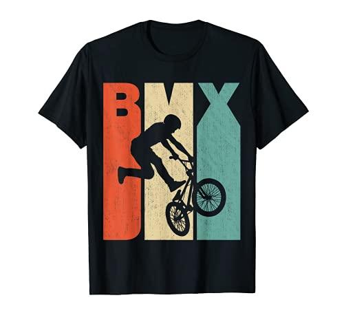 Vintage Retro BMX Silhouette T-Shirt