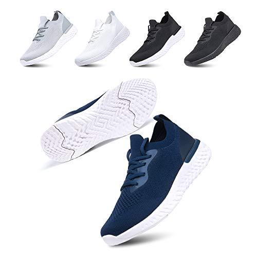Zapatillas De Deportivas Para Mujeres Zapatillas Correr Hombre Sneakers Cordones Plataforma Running...