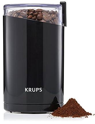 Krups Fast Touch Molinillo de Café y Especias F2034238:  Mejor Molinillo Café Calidad Precio
