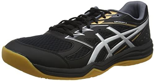 ASICS 1071a053-001_43,5, Zapatillas de Voleibol Hombre, Noir Gris, 43.5 EU