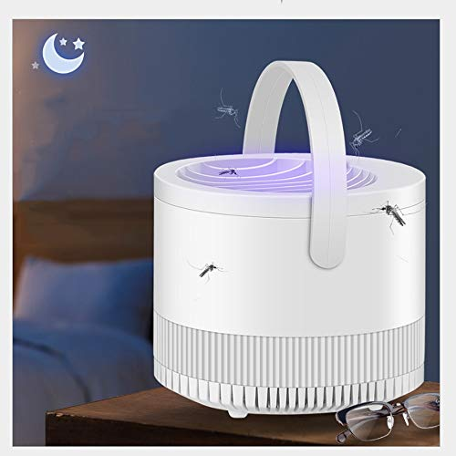 LGOO1 Tragbare Photokatalysator USB-Moskito-Mörder-Lampe 360 ° Umgebung Typ Catcher Fliegenfalle elektrische Bug Zapper Sichere Energie Fliegen Bug Fruchtfliege Schädlingsbekämpfung Flycatcher mit U