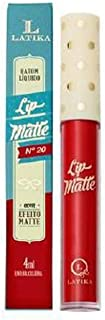 Latika Lip Matte Nº20 Vermelho - 4Ml