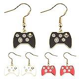 EasenHub Game Pendientes personalizados Pendientes de consola regalos para los entusiastas de los juegos de videojuegos Pendientes de atletismo