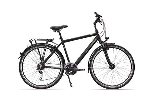 Hawk Trekking 24-G, 52 cm Fahrrad, Comfort Black, 28 Zoll