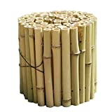 JIANFEI-Valla de jardín Valla De Madera Cerca De Bambú Decoración De La Cama De Flores Valla De Jardín Hidrófugo Impermeable, 3 Tallas (Size : 120x120cm)