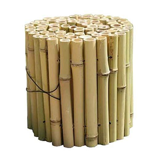 JIANFEI-Valla de jardín Valla De Madera Cerca De Bambú Decoracion Exterior Planta De Barandilla Decoracion Exterior, 3 Tallas (Size : 120x120cm)