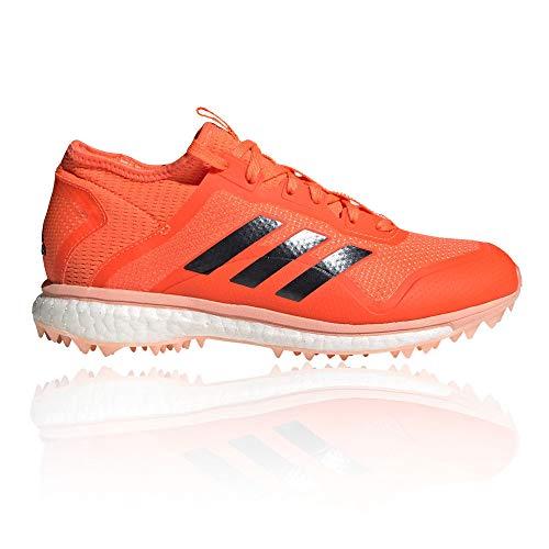Adidas Fabela X AW19 - Scarpa da hockey da donna, Arancione (Arancione), 38 EU