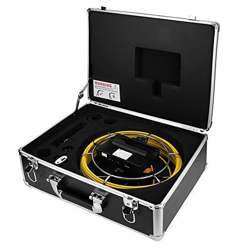 Monitor de cámara Práctico Cómodo de usar Cámara de vigilancia para investigación submarina Suministro de agua Aire(Cable length 50m)