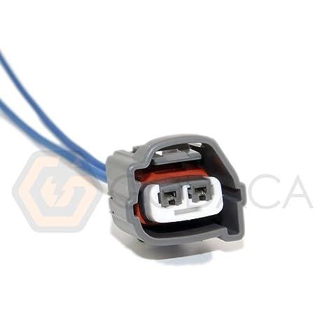 Amazon.com: 1x Connector 2-way 2 pin for Ignition Coil Hyundai 90980-10901:  Automotive | 99 Hyundai Elantra Coil Connector Wiring Color |  | Amazon.com