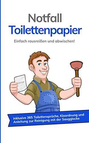 Notfall Toilettenpapier: Einfach rausreißen und abwischen