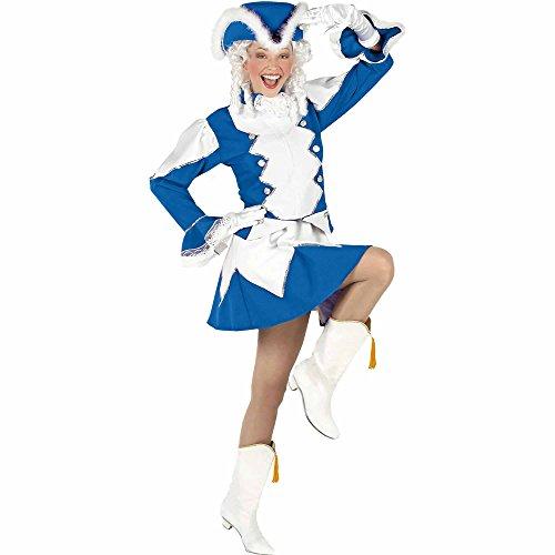 Widmann 96772 Erwachsenen Kostüm Funkenmariechen, Mehrfarbig, M