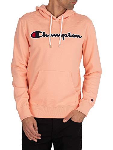 Champion Heren Grafische trui met capuchon, Roze