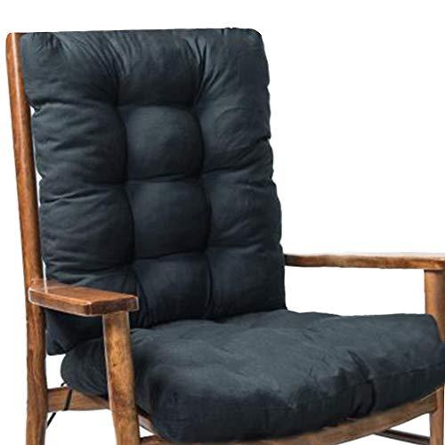 Rocking Chair Cushions,Non-Slip Polar Jumbo Rocking Chair Cushions,2 Pices Lounger Cushion With Backrest Rocking Chair Back,Soft Thickened Lounge Chair Cushion Sofa Pad