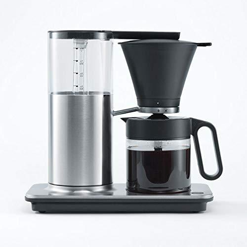 Wilfa CLASSIC PAUSE Cafetera de goteo – De acero, con una capacidad de 1 litro y función antigoteo automática, plata