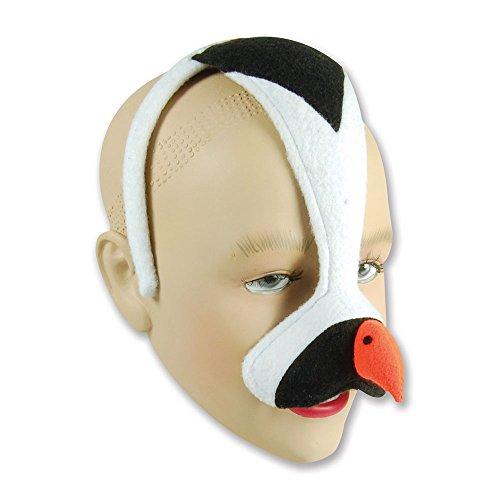 Partypackage Ltd Bristol Novelty EM285 Masque de Pingouin sur Serre-tête, Unisexe, Enfant, Multicolore, Taille Unique