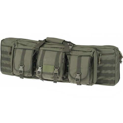 "Mastiff Outdoor Tactical Double Long Rifle Pistol Gun Bag Firearm Hungting Pack Transportation Case Paintball Airsoft Length 36"" Green"