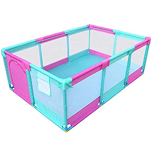 New Zxwzzz Baby Play Fence Children Activity Center Safety Playground Family Indoor and Outdoor