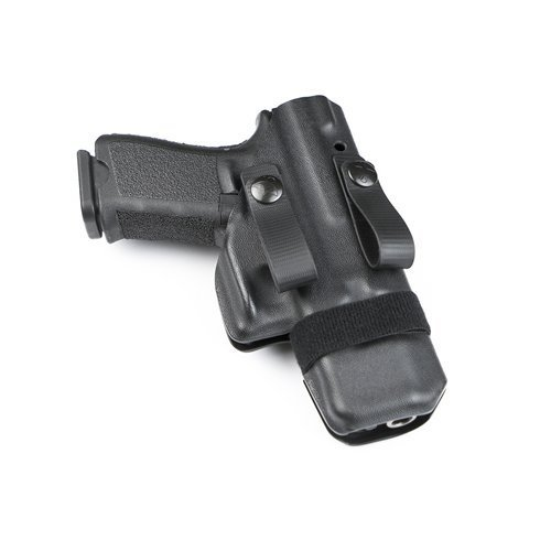 Raven Concealment Systems Ambidextrous Morrigan IWB Holster Fits M&P Full-Size with Soft Loops, Black by Raven Concealment Systems