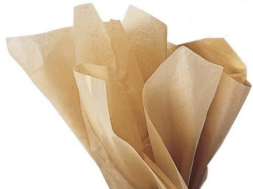 Acid-Free Kraft Tissue Paper - 100 Sheets 15 Inch x 20 Inch Ph Neutral Premium Tissue Paper A1 bakery supplies Paper Made in USA