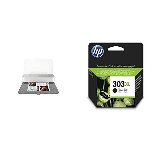 HP Tango X Stampante a Colori, Wi-Fi, Multifunzione per Dispositivi Mobile, Stampe & 303 XL T6N04AE Cartuccia Originale per Stampanti a Getto di Inchiostro HP Tango e Tango X e HP