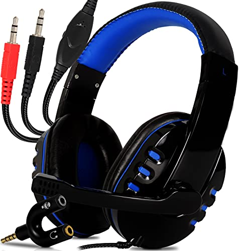 Headset Gamer com Microfone Fone de Ouvido Gamer Para Computador Notebook Ps4 Ps5 Xbox One Serie X e S