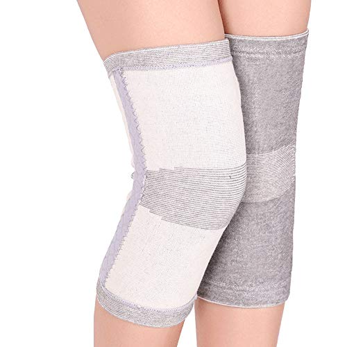 DEI QI Best Knee Pads Kneepad Protector - Superior Protective Knee Pads for Wrestling, Volleyball, Hockey, Skating, Skiing and Cycling (1 Pair) (Color : Gray, Size : M)