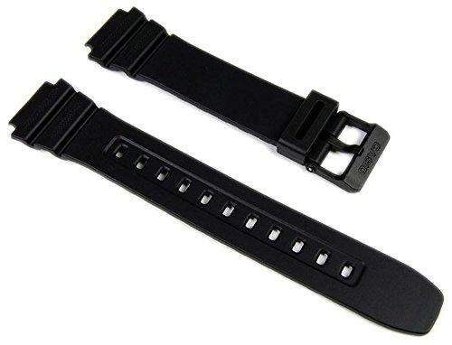 Casio 10365960 - Cinturino per orologio, uomo, resina, colore: nero