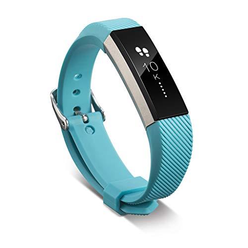 Fucung - Correa de repuesto para Fitbit Ace/Alta/HR de 4,5 a 5,9' para Fitbit Ace/Alta/HR (azul cielo)
