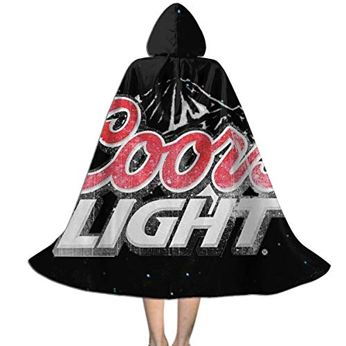 Sherrygeoffrey Coors Light Beer Girls and Boys Costumes Halloween Capes Cloak