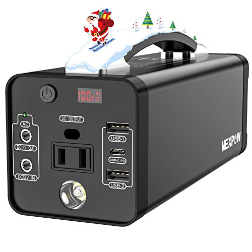 NEXPOW Portable Power Station, 178Wh Solar Generator review