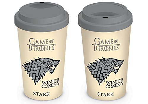 Pyramid International Game of Thrones - Taza De Viaje House Stark