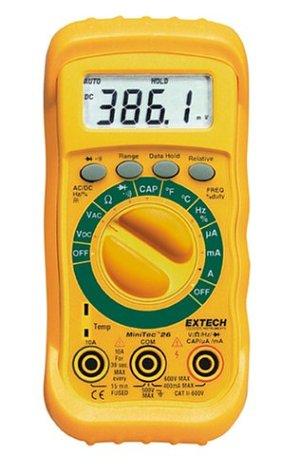 Extech MN26T - Multímetro que van de auto