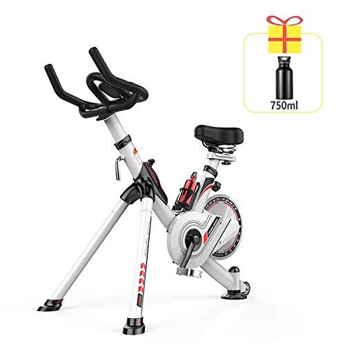 La bicicleta de ejercicios magnética controlada de 7 velocidades, la bicicleta de ejercicios ultra silenciosa para interiores, el equipo de ejercicios aeróbicos para adelgazar con ejercicio, puede se