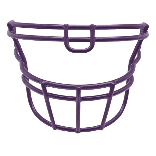 Schutt Sports DNA ROPO UB Carbon Steel Varsity Football Faceguard, Purple, Small/Large
