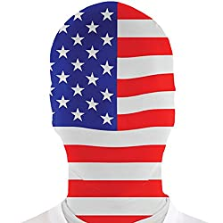 Flag Head Mask -be creative and customize it