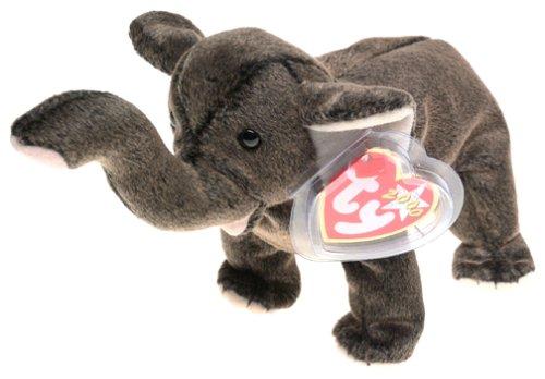 Ty Beanie Babies - Trumpet the Elephant