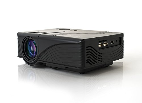 Projector,iDGLAX iDG-787B LCD LED Video Multimedia Mini Portable Projector for Home Cinema Theater Movie Game TV DVD Laptop iPhone Andriod Smartphone with HDMI/SD/USB/AV/VGA Ports