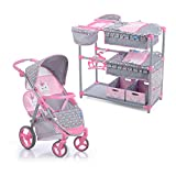 Hauck Unicorn Twin Doll Stroller with Twin...