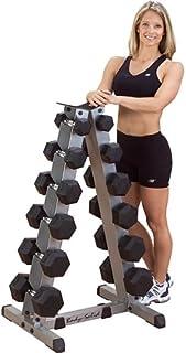 Body Solid 2 Tier Vertical Dumbell Rack