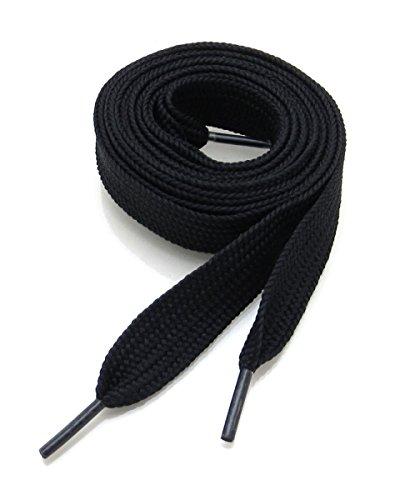 Ti Lace Fashion Flat Shoelaces 54 Inch Canvas Sneaker Athletic Tennis Shoe Laces Unisex Strings - 39 Colors