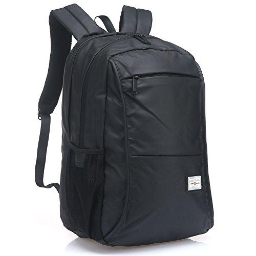 UTAKE Mochila para Ordenador portátil de hasta 15 Pulgadas, Negro UT70